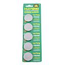 CR2450 3V piles haute capacité au lithium piles bouton (5-pack)