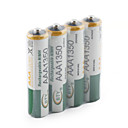 1350mAh BTY Ni-MH AAA 1.2V Rechargeable Battery