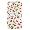 Stylish Strawberry Hard Case for iPhone4G (White)