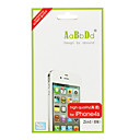 2-in-1 Back & Front Screen Protector with Cleaning Cloth for iPhone 4S