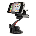 Universal Rotatable In-Car Holder for iPhone 4, 4S and Samsung i9220, i9250 and GPS (Black)