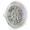 Focos LED MR16 GU10 / GU5.3(MR16) 1W 21 LED Dip 65 LM Blanco Cálido / Blanco Natural DC 12 / AC 12 V