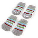 Socks & Boots for Dogs Gray Spring/Fall Cotton