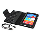 Bluetooth 3.0 Keyboard with Case for Samsung Galaxy Tab 7 Plus P6200 (Black)