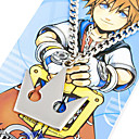 Buy Jewelry Inspired Kingdom Hearts Sora Anime/ Video Games Cosplay Accessories Necklace Silver Alloy Male
