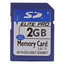 2GB Hi-speed Elite Pro SD-minneskort