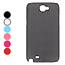 Évider Case Style Pattern Dot dur pour Samsung Galaxy N7100 Note 2 (couleurs assorties)