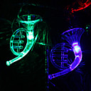 6M 32-LED Musical Instrument Shaped Colorful Lys String Fairy Lampe til jul (220V)