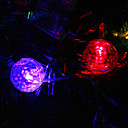 9.5m 20-LED Snowball Shaped Colorful Lys String Fairy Lampe til jul (220V)