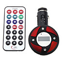 Rounded Style Car MP3 Player with FM Transmitter (Assorted Color)