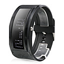 Men's Watch Sports LED Programmable Display Silicone Strap
