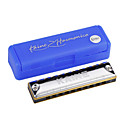 Kaine - (k1003) blues harp harmonica 10 holes/20 tony