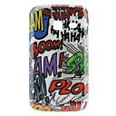 Scrawl Style Hard Case for Samsung Galaxy Y Duos S6102