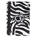 вращающийся зебра-полоса PU кожаный чехол ж / стенд для Ipad Mini 3, Ipad Mini 2, Ipad мини