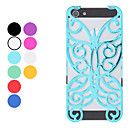 Hollow Out Style Butterfly Design Hard Case for iPhone 5/5S (Assorted Colors)