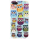Buy Cartoon Design Lovely Owl Pattern Hard Case iPhone 5/5S