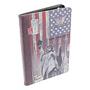Statue of Liberty PU Leather Full Body Case w/ Stand for iPad mini 3, iPad mini 2, iPad mini