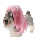 모든계절 - 화이트 / 핑크 플라스틱 - 헤어 악세서리 - 개 / 고양이