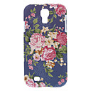 Elegant Peony Pattern Hard Case for Samsung Galaxy S4 I9500