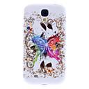 Schmetterling Muster Soft Case für Samsung Galaxy i9500 S4