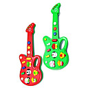 Mini Electric Guitar Musical avec 12 Tunes (Powered by 2AA, couleurs assorties)