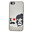 Blinking Lovely Girl Pattern PC Hard Case for iPhone 5/5S