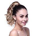 Buy Top Grade Synthetic Short Wavy Blonde Ponytail