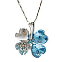 Buy Royal Blue Pendant Necklaces Crystal / Alloy Daily Jewelry