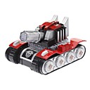 Kid's Electric Tank Toy Model bureaublad Display met LED licht en muziek