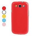 Jelly Color TPU Hard Case for Samsung Galaxy S3 I9300 (Assorted Colors)