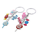 Colorful Candy Style Keychain (Random Color)