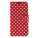 Dots elegante padrão PU Leather Case Full Body para Samsung Galaxy S4 Mini I9190 (cores sortidas)