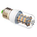 daiwl E27 54x3528smd 3000K varmvit ljus ledde majs glödlampa (12v)