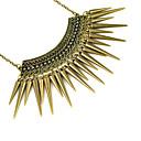 Exaggeration Drop-Rivet Fashion Necklace ,Nl-1912