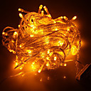 100-LED 10M Christmas Holiday Decoration Yellow Light LED String Light