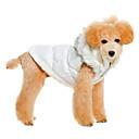 maglia bella calda con hoodie per i cani da compagnia (colori assortiti, taglie)