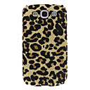 Bling Leopard Print Pattern Hard Back Cover Case til Samsung Galaxy S3 i9300