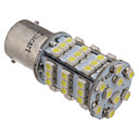 2kpl 1156 BA15S 3.25W 216LM 54x3528SMD 6000K Cool White Light LED Car lamppu (12V)