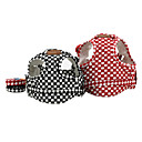 Stylish Simple Checks Harness Vest with Leash for Pets Dogs (Assorted Colors, Sizes)