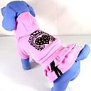 Dog Dresses - XS / S / M / L / XL - Winter - Pink Cotton
