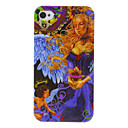 Stile Anime Angels caso del modello TPU Shimmering per iPhone 4/4S