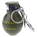 Nøglering Style Grenade Shaped Alloy Lighter