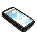 Cycling Black Bike Water Resistant Bag + Mount Holder for Samsung Note2