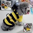 schattige bijen jumpsuits met capuchon voor huisdieren honden