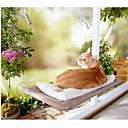 Warm Strips Pattern Round Bed for Pets Dogs Cats
