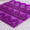 Plastic DIY Fondant Cake Decorating Edge Frill Ribbon Embosser Sugarcraft Modelling  Mold Set of 4