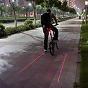 Mountain Bike Circular Laser Advarsel LED baglygter