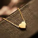 Süß (Heart-shaped Anhänger) Gold-Legierung Halsketten-Anhänger (1 St.)