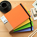 Cute Photo Album Hard Cover Creative Notebooks(Random Colors,1 Book)