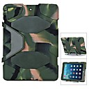 Letter G Defender Plastic  Military Drop Resistance Shockproof  Hard Case with Retail Box for  iPad 2/3/4
